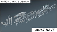 Hard Surface Library