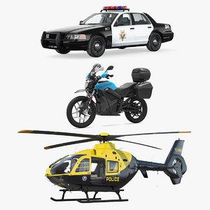 police transport 3D