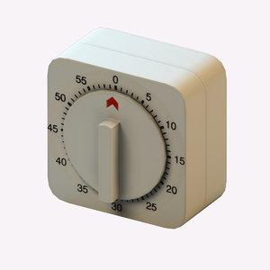 3D kitchen timer