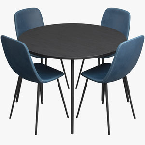 dining table chairs model