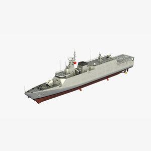3D model type056 jiangdao corvette