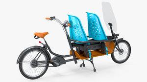 3D babboe slim electric cargo