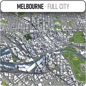 melbourne area urban 3D
