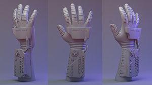 3D 1989 mattel power glove