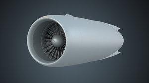 d30kp il-76 engine 3D