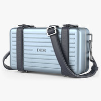 Dior And Rimowa Personal Clutch