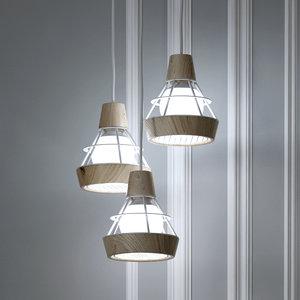 3D hanging lamp romatti trio