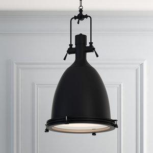 3D hanging lamp romatti t1 model