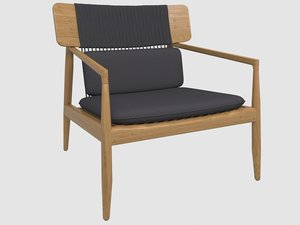 archi lounge chair gloster model