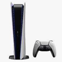 Sony Playstation 5 Console and Dual Sense Controller
