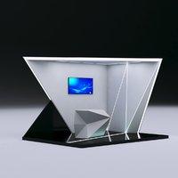 Futuristic Booth