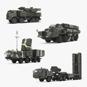 russian missile systems russia 3D model
