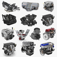 Vehicle Engines Big Collection 2