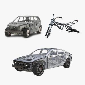 vehicle frames 3D