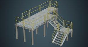 industrial platform 1a model