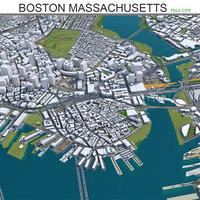 Boston City in Massachusetts