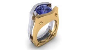 3D large ring