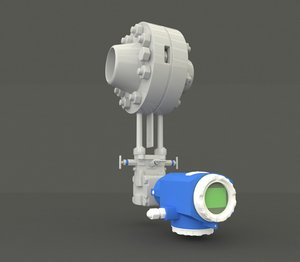 3D dp flowmeter