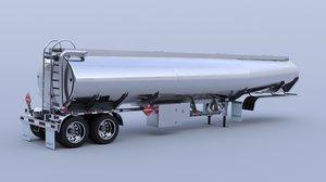 oil truck 3D model