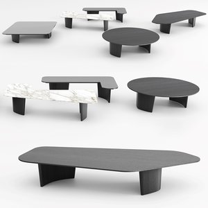 minotti song coffee table model