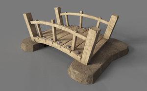 3D stylized bridge