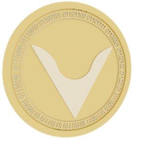 veil gold coin 3D