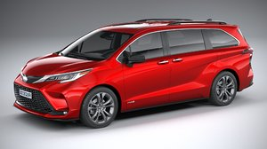 toyota sienna 2021 model