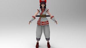 nakoruru samurai shodown model