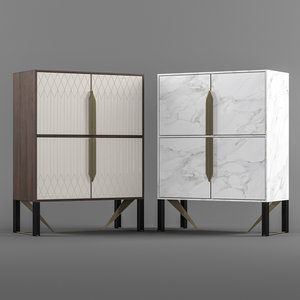 capital prisma cabinet 3D model