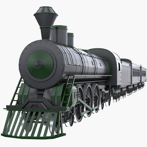 steam train model