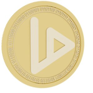 3D v id gold coin