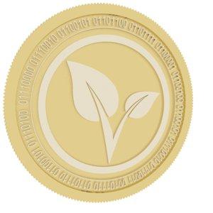 vitae gold coin 3D model