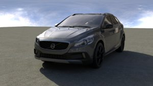 car vrscene 3D model