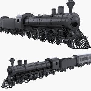 steam train 3D
