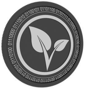 3D vitae black coin