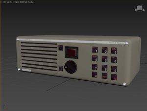 3D model rt 2048 radio