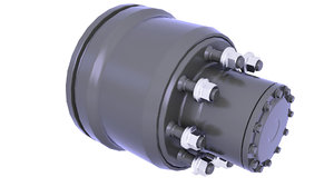 brake drum 3D model