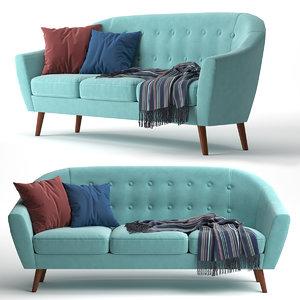 3D sofa fabelio jobi