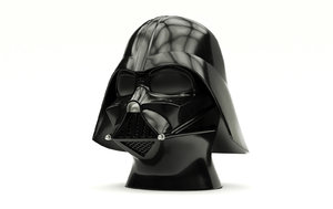 3D model definition darth vader helmet
