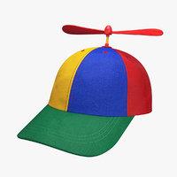 Propeller hat