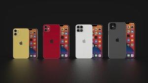 3D concept iphone 12 according