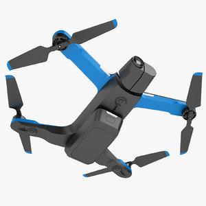 skydio 2 quadcopter 3D model