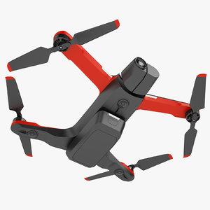 skydio 2 quadcopter 3D