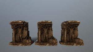 3D statue 3