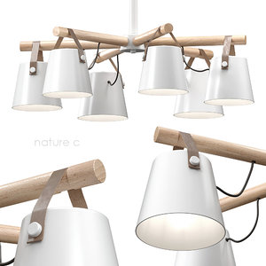 3D pendant light natura