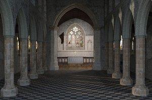 church nave model