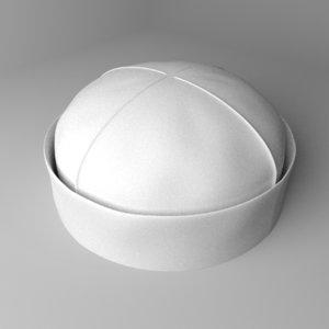 beanie cap 3D model