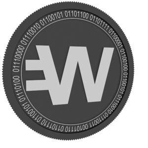 3D wirex token black coin