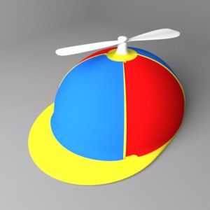3D propeller cap