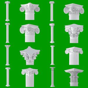 3D 8 classic column